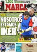 Portada diario Marca del 5 de Mayo de 2013