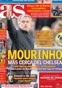 Portada diario AS del 6 de Mayo de 2013