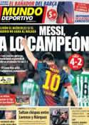 Portada Mundo Deportivo del 6 de Mayo de 2013