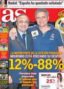 Portada diario AS del 7 de Mayo de 2013