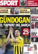 Portada diario Sport del 7 de Mayo de 2013