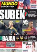 Portada Mundo Deportivo del 7 de Mayo de 2013