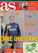Portada diario AS del 8 de Mayo de 2013