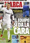 Portada diario Marca del 9 de Mayo de 2013