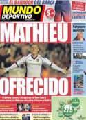 Portada Mundo Deportivo del 9 de Mayo de 2013