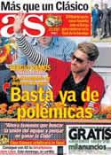 Portada diario AS del 10 de Mayo de 2013