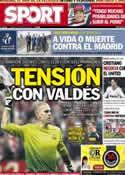Portada diario Sport del 10 de Mayo de 2013
