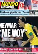 Portada Mundo Deportivo del 10 de Mayo de 2013
