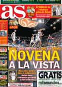 Portada diario AS del 11 de Mayo de 2013