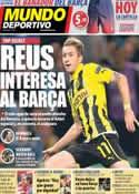Portada Mundo Deportivo del 11 de Mayo de 2013