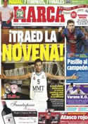 Portada diario Marca del 12 de Mayo de 2013