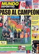 Portada Mundo Deportivo del 13 de Mayo de 2013