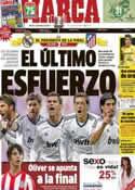 Portada diario Marca del 14 de Mayo de 2013