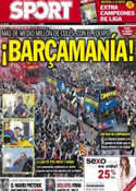 Portada diario Sport del 14 de Mayo de 2013