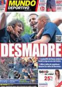 Portada Mundo Deportivo del 14 de Mayo de 2013