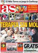 Portada diario AS del 15 de Mayo de 2013