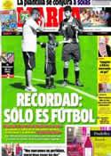 Portada diario Marca del 15 de Mayo de 2013