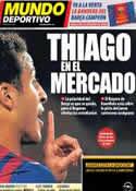 Portada Mundo Deportivo del 15 de Mayo de 2013