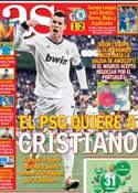 Portada diario AS del 16 de Mayo de 2013