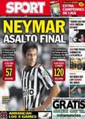 Portada diario Sport del 16 de Mayo de 2013
