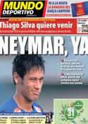 Portada Mundo Deportivo del 16 de Mayo de 2013