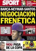 Portada diario Sport del 17 de Mayo de 2013
