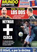 Portada Mundo Deportivo del 17 de Mayo de 2013