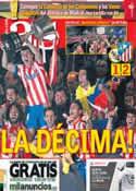 Portada diario AS del 18 de Mayo de 2013