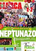 Portada diario Marca del 18 de Mayo de 2013