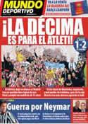 Portada Mundo Deportivo del 18 de Mayo de 2013