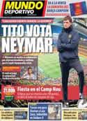 Portada Mundo Deportivo del 19 de Mayo de 2013