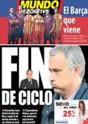 Portada Mundo Deportivo del 21 de Mayo de 2013