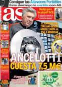 Portada diario AS del 22 de Mayo de 2013