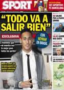 Portada diario Sport del 22 de Mayo de 2013