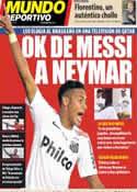 Portada Mundo Deportivo del 22 de Mayo de 2013
