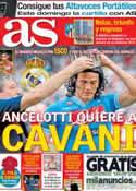 Portada diario AS del 23 de Mayo de 2013