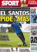 Portada diario Sport del 23 de Mayo de 2013