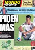 Portada Mundo Deportivo del 23 de Mayo de 2013