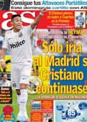 Portada diario AS del 24 de Mayo de 2013