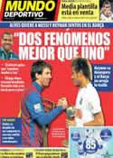 Portada Mundo Deportivo del 24 de Mayo de 2013