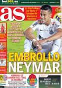 Portada diario AS del 25 de Mayo de 2013