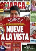 Portada diario Marca del 25 de Mayo de 2013