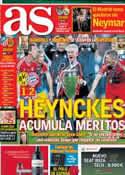 Portada diario AS del 26 de Mayo de 2013