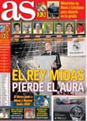 Portada diario AS del 27 de Mayo de 2013