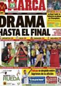 Portada diario Marca del 27 de Mayo de 2013