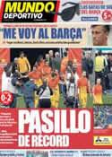 Portada Mundo Deportivo del 27 de Mayo de 2013