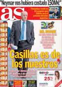 Portada diario AS del 28 de Mayo de 2013