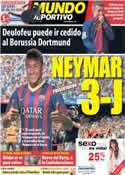 Portada Mundo Deportivo del 28 de Mayo de 2013