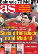Portada diario AS del 30 de Mayo de 2013