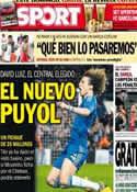 Portada diario Sport del 30 de Mayo de 2013